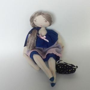 Miss Pénelop patron poupée chiffon Amélie 1