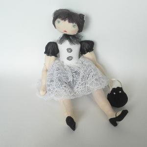 Miss Pénelop patron poupée chiffon Colombe 1