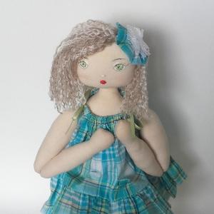 Miss Pénelop patron poupée chiffon Daphné  2