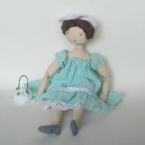 Miss Pénelop patron poupée chiffon Eglantine 2