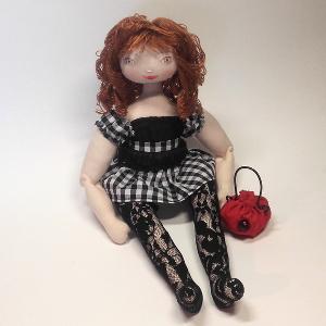 Miss Pénelop patron poupée chiffon Kathy 1