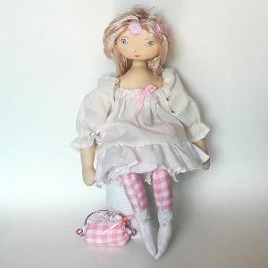 Miss Pénelop patron poupée chiffon Léonie 1