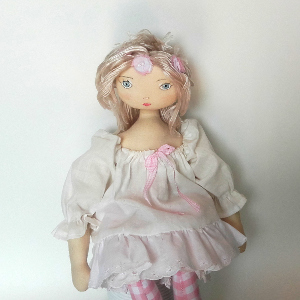 Miss Pénelop patron poupée chiffon Léonie 2
