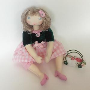 Miss Pénelop patron poupée chiffon Marguerite 1