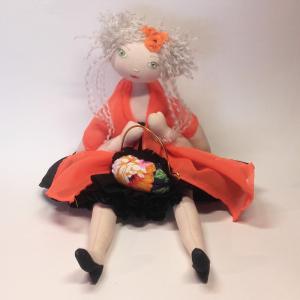 Miss Pénelop patron poupée chiffon Olga 1