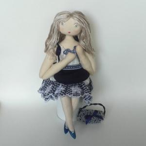 Miss Pénelop patron poupée chiffon Séraphine 1