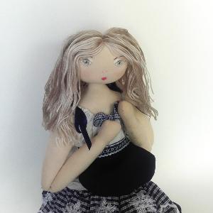 Miss Pénelop patron poupée chiffon Séraphine 2