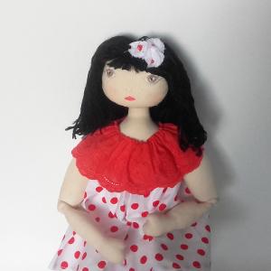 Miss Pénelop patron poupée chiffon Solena 1